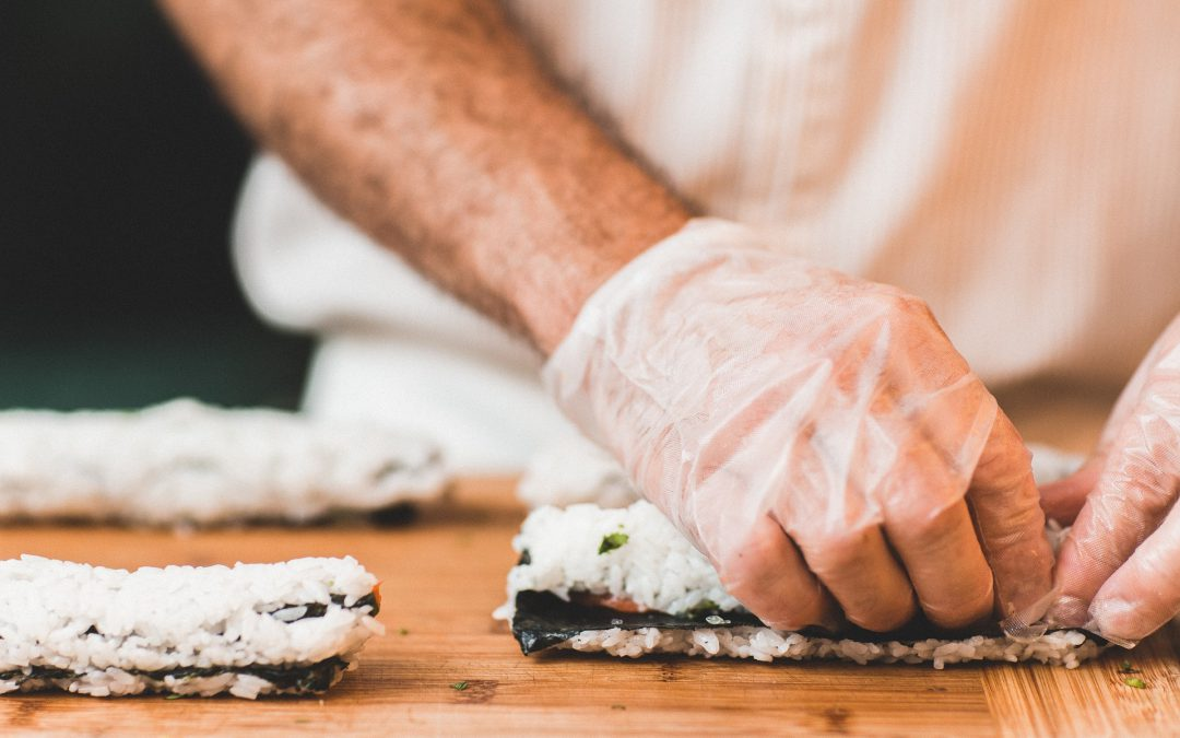 Sushi is gezond, maar eet met je verstand